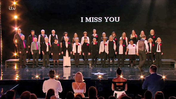 Britain's Got Talent Missing People Choir final