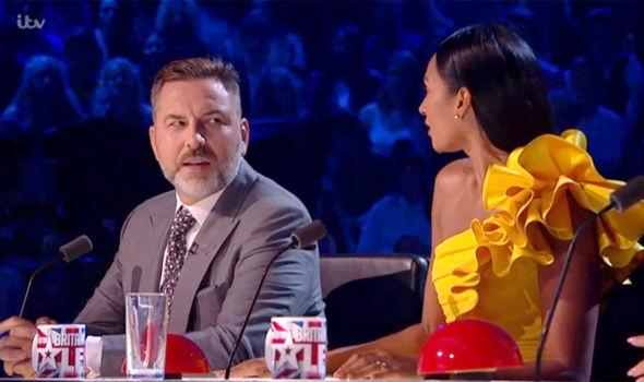 David Walliams was not impressed with Alesha Dixon on Britain's Got Talent