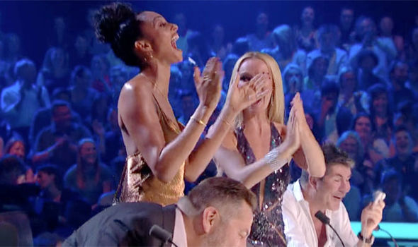 The Britain's Got Talent judges were in hysterics