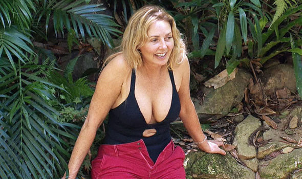 Carol Vorderman put on an eye-popping display