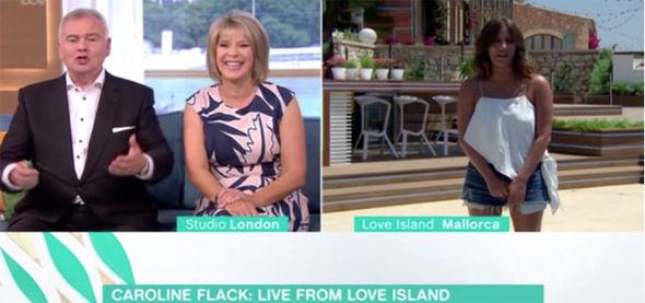 Caroline Flack interview