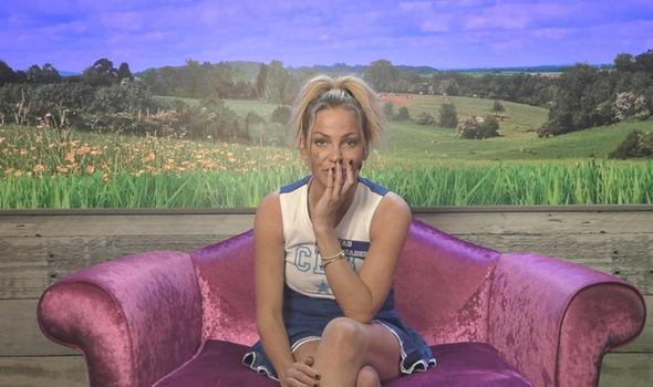 Trisha Paytas let loose at Sarah Harding on Celebrity Big Brother