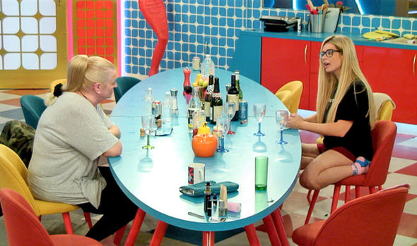 Celebrity Big Brother 2017 Nicola McLean and Kim Woodburn