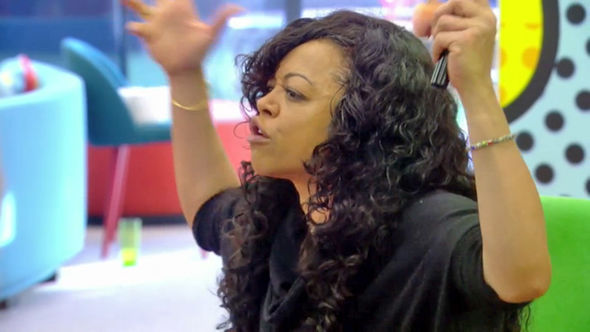 Celebrity Big Brother 2017 Stacy Francis rants at Kim Woodburn about her towel