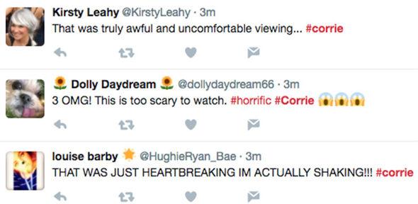 Coronation Street Bethany Platt gang rape grooming Twitter ITV