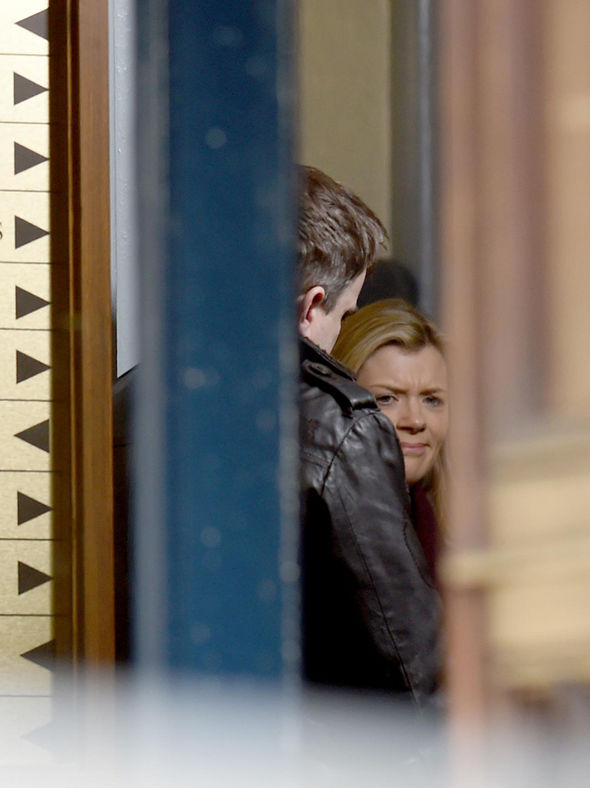 Coronation Street: Steve and Leanne register the birth of their child