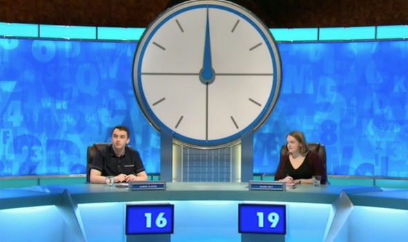 The contestants battle it out on Coutndown