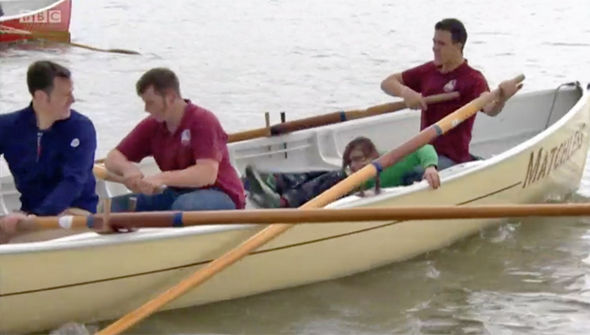 Countryfile SHOCKER Matt Baker told to 'get a grip' amid boat disaster