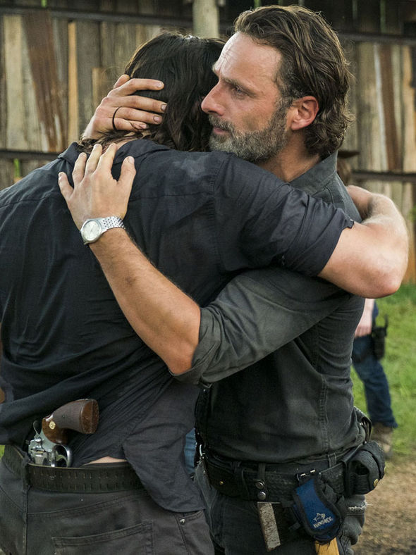 Daryl Dixon and Rick Grimes are reunited
