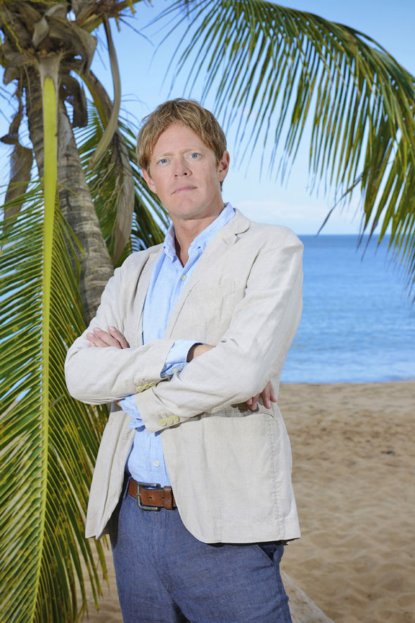 Death in Paradise Kris Marshall as Detective Inspector Humphrey Goodman