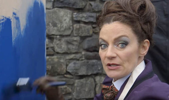 Missy returns to Doctor Who