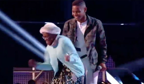 Donel and his nan Nita