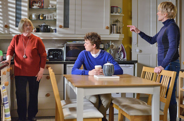 EastEnders Aunt Babe and Shirley Carter clash