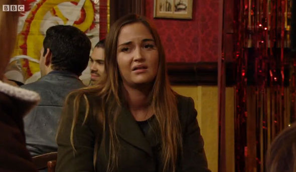 Lauren Branning on last night's EastEnders