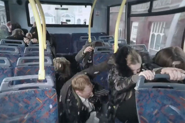 EastEnders bus crash