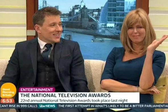 Kate Garraway and Ben Shaphard