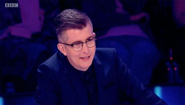 Gareth Malone annoyed