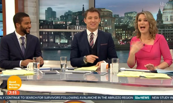 Ben Shephard warned Charlotte Hawkins told to behave on Good Morning Britain