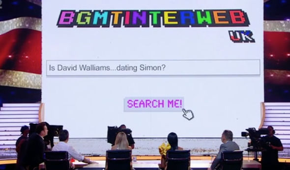 Google question about David Walliams