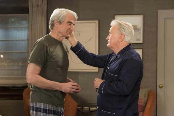 Grace and Frankie: Martin Sheen and Sam Waterston