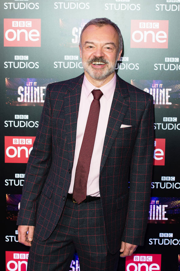 Graham Norton also spoke of his comfort with BBC