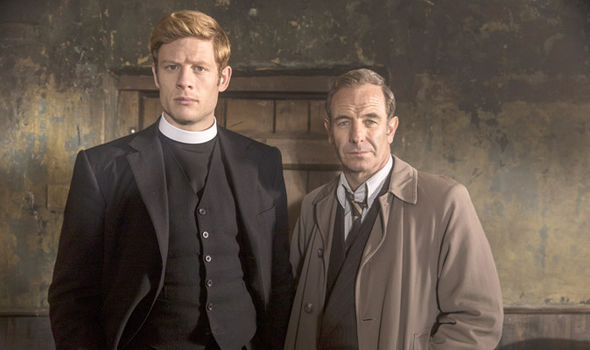 Dynamic Grantchester duo Sidney Chambers and Geordie Keating