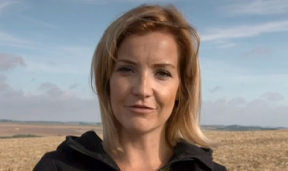 Helen Skelton is a reporter on Countryfile