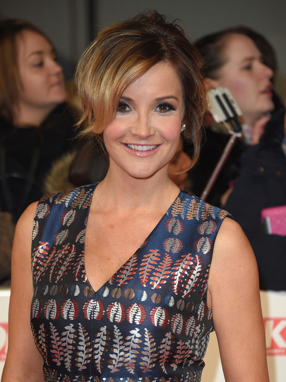Helen Skelton on the red carpet at the National Television Awards