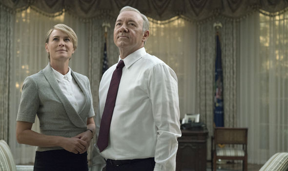 Claire and Frank Underwood for House of Cards season 5