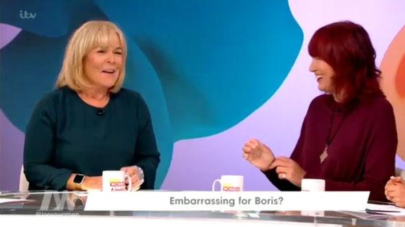 I'm A Celebrity Linda Robson Loose Women ITV