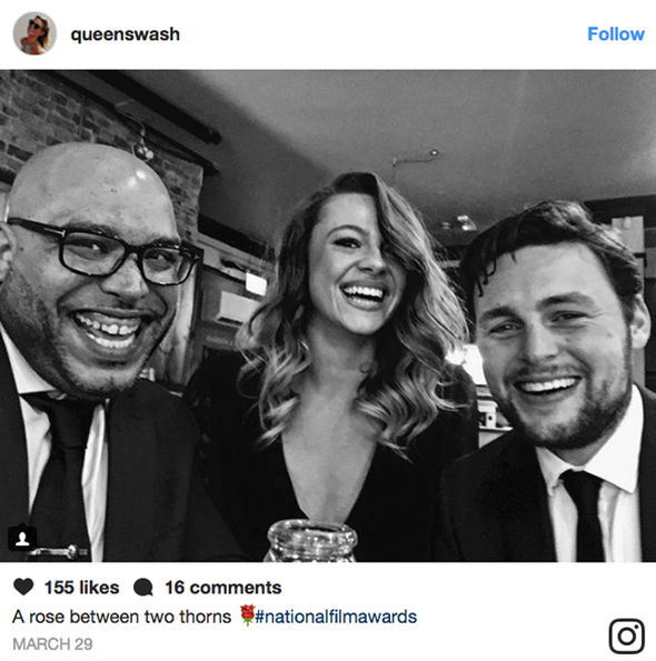 Shana Swash looks stunning in black and white Instagram snap