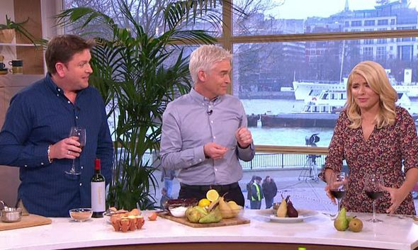 James Martin appears on This Morning