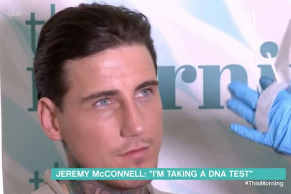 Jeremy McConnell took DNA test