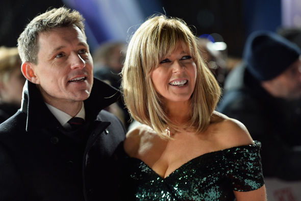 Kate and Ben at the NTA's