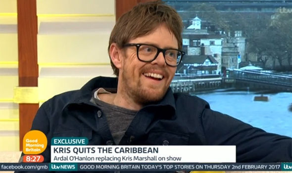 Kris Marshall talks about quitting Death in Paradise on Good Morning Britain