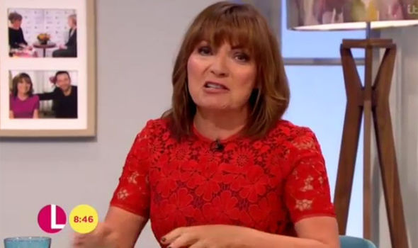 Lorraine Kelly was left on the verge of tears over footage of a funeral of a Manchester bombing victim