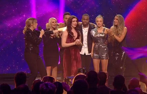 Lucie Jones announced as winner