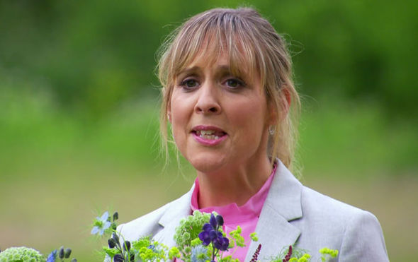 Mel Giedroyc Great British Bake Off