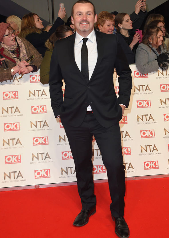 Ryan Moloney at the National Television Awards