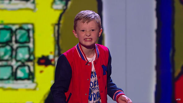 Ned Woodman Britain's Got Talent final