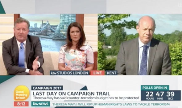 Piers Morgan did not hold back on Good Morning Britain