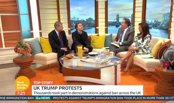 Owen Jones and Piers Morgan debate Donald Trump on Good Morning Britain