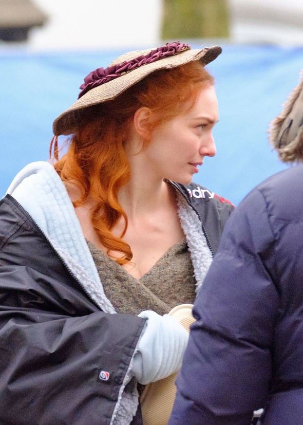 Poldark season 3 Set pictures show Ross and Demelza loved up