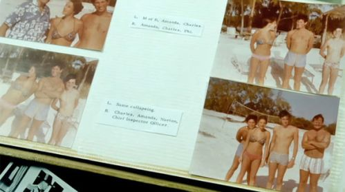 Prince Charles in Mountbatten's photo album