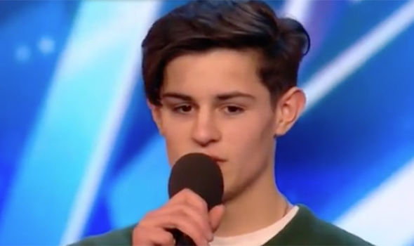 Singer Reuben Gray will be performing on Britain's Got Talent this evening