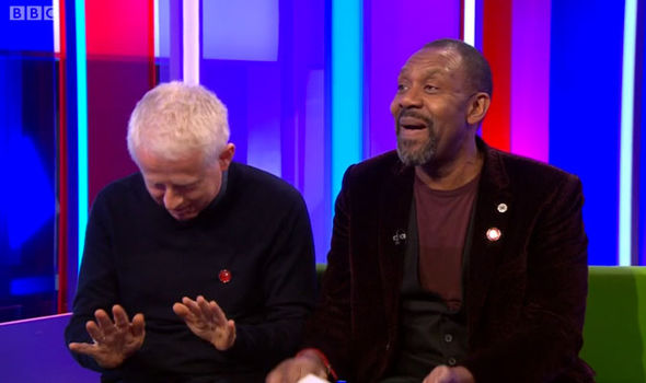 Richard Curtis Lenny Henry The One Show