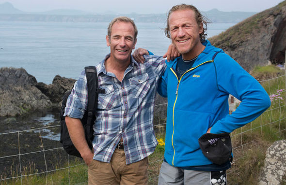 Robson Green Jerome Flynn Tales from the Coast