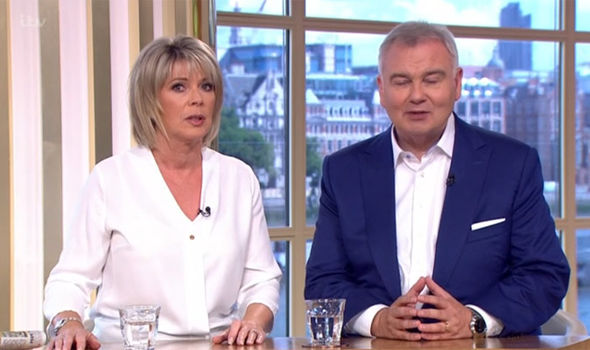 This Morning host Ruth Langsford revealed more than she intended