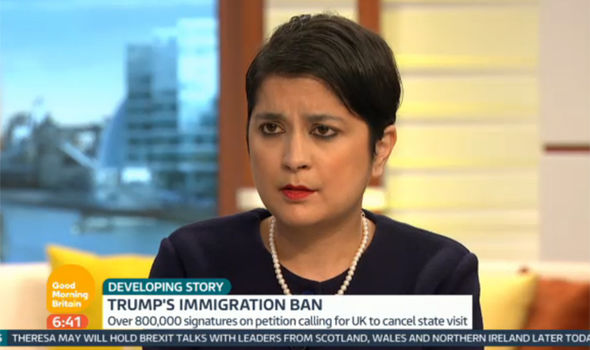 Shami Chakrabarti blasts Donald Trump on Good Morning Britain