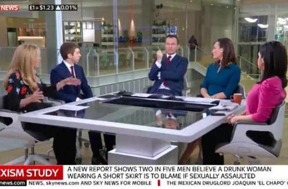 Sky News Sunrise Stephen Dixon rape sexism debate